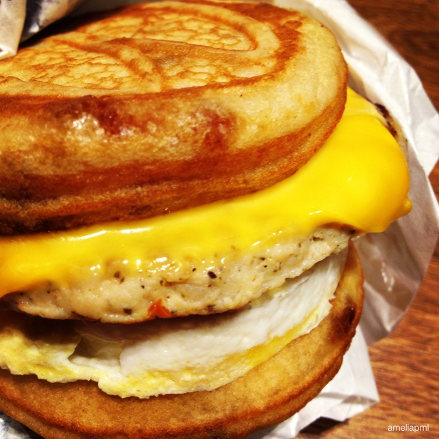 Sausage McGriddles with Egg